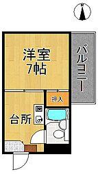 カサクレモナ東館[4階]の間取り