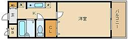 近鉄南大阪線 藤井寺駅 徒歩2分[3階]の間取り