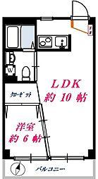 目黒ロイヤルプラザ[2階]の間取り