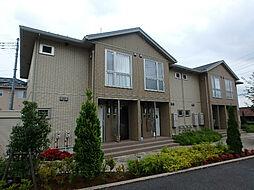 埼玉県北足立郡伊奈町大字小室の賃貸アパートの外観