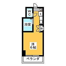 メトロポリタン37[3階]の間取り