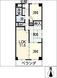 LEGEND[2階]の間取り