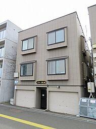 北海道札幌市北区麻生町1丁目の賃貸アパートの外観