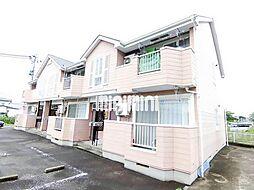 宮城県仙台市太白区東大野田の賃貸アパートの外観