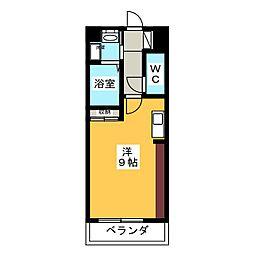 フーブル[1階]の間取り