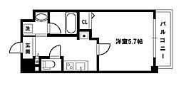 グレイスレジデンス大阪WEST[2階]の間取り