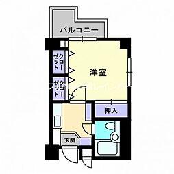アーバン錦町[7階]の間取り