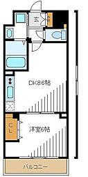 ソアールシーノ[2階]の間取り