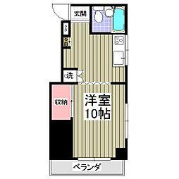 サットンプレイス[2階]の間取り