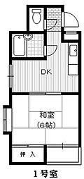 アクセルフラッツ[3階]の間取り