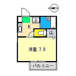 セフィラ横町[2階]の間取り