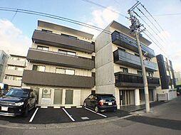 北海道札幌市西区二十四軒四条4丁目の賃貸マンションの外観