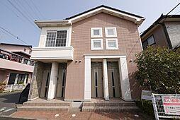 茨城県日立市会瀬町1丁目の賃貸アパートの外観