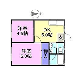 鶴崎駅 3.8万円