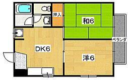 シャトレアロール[1階]の間取り