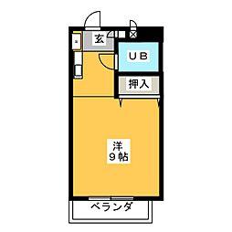 セゾン姥堂[2階]の間取り