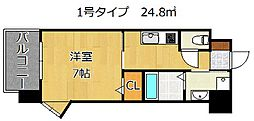 アルゴヴィラージュ浅生II[4階]の間取り