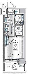 リライア横濱関内[11階]の間取り