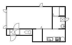 SKD21[2階]の間取り