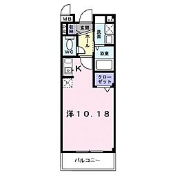 フィールドロード2[101号室号室]の間取り