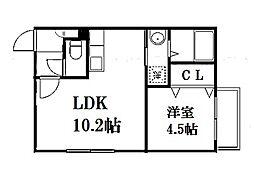 仮称)北16西4 新築MS[4階]の間取り
