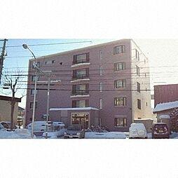北海道札幌市豊平区平岸二条16丁目の賃貸マンションの外観