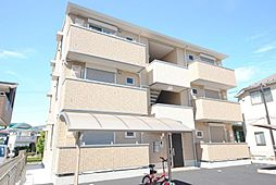 埼玉県越谷市三野宮の賃貸アパートの外観