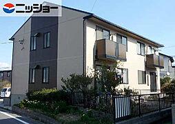 愛知県知多郡武豊町字池田2丁目の賃貸アパートの外観