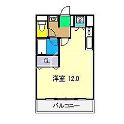 ADDRESS HARIMAYA[2階]の間取り