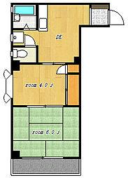 第3東和ビル[3階]の間取り