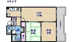 ドムス御崎[2階]の間取り