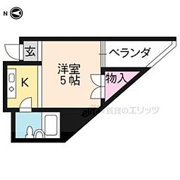 北大路駅 1.9万円