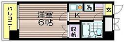 ピア吉野[502号室]の間取り