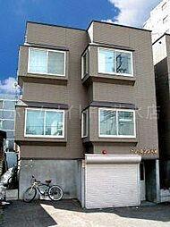 北海道札幌市中央区大通東8丁目の賃貸アパートの外観