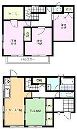 雀宮駅 1,500万円
