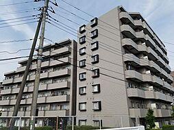 千葉県松戸市河原塚の賃貸マンションの外観