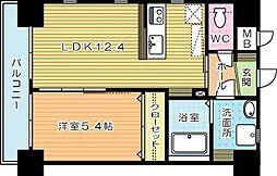 SOFITEL紺屋町 (ソフィテルコンヤマチ)[2階]の間取り