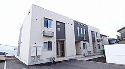 香川県さぬき市長尾西の賃貸アパートの外観