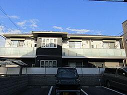 大阪府大阪市東住吉区東田辺3丁目の賃貸アパートの外観