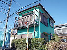 東京都東久留米市中央町2丁目の賃貸アパートの外観
