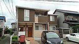 愛知県あま市木田西山の賃貸アパートの外観