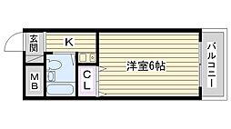 第3渡部ビル[205号室]の間取り