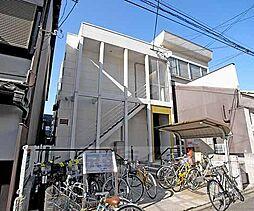 京都府京都市上京区三芳町の賃貸アパートの外観