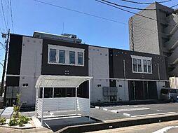 茨城県龍ケ崎市佐貫4丁目の賃貸アパートの外観