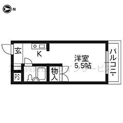 ソレーユー藤井[302号室]の間取り