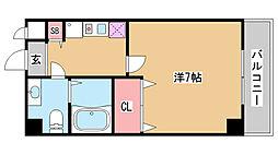 DOIマンション[30E号室]の間取り