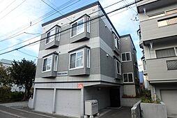 北海道札幌市東区北二十四条東17丁目の賃貸アパートの外観