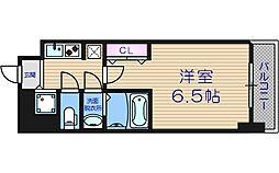 大阪府大阪市中央区平野町4丁目の賃貸マンションの間取り