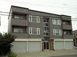 北海道札幌市手稲区新発寒三条1丁目の賃貸アパートの外観