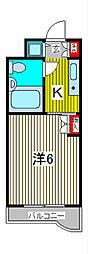 TOP川口第一[3階]の間取り